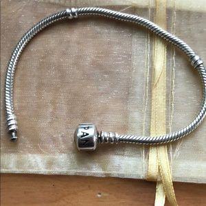 Pandora Charm bracelet-worn
